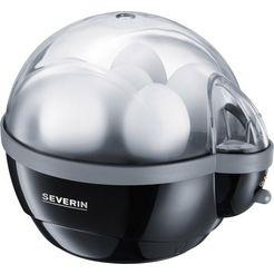 severin eierkoker ek 3056, aantal eieren: 6, 400 watt zwart