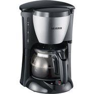 severin filterkoffiezetapparaat ka 4805, koffiekan 0,46 l, papieren filter 1x2 zilver