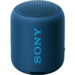 sony »srs-xb12« bluetoothluidspreker (bluetooth, nfc) blauw
