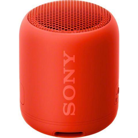 Sony SRS-XB12 Bluetooth luidspreker Outdoor, stofdicht, watervast Rood