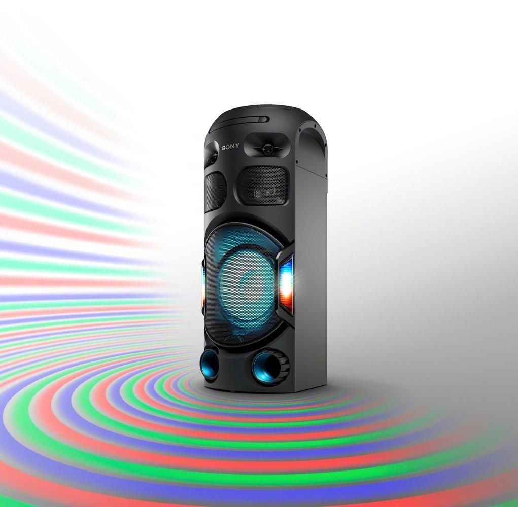 SONY »MHC-V42D« bluetoothluidspreker (NFC, bluetooth, verlichtingsmogelijkheden) goedkoop op otto.nl kopen