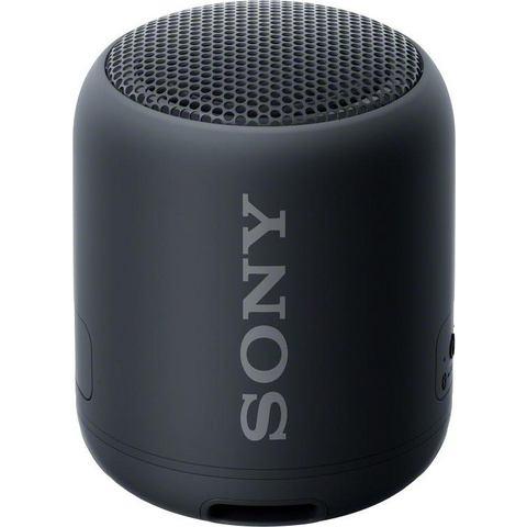 Sony SRS-XB12 Bluetooth luidspreker Outdoor, stofdicht, watervast Zwart