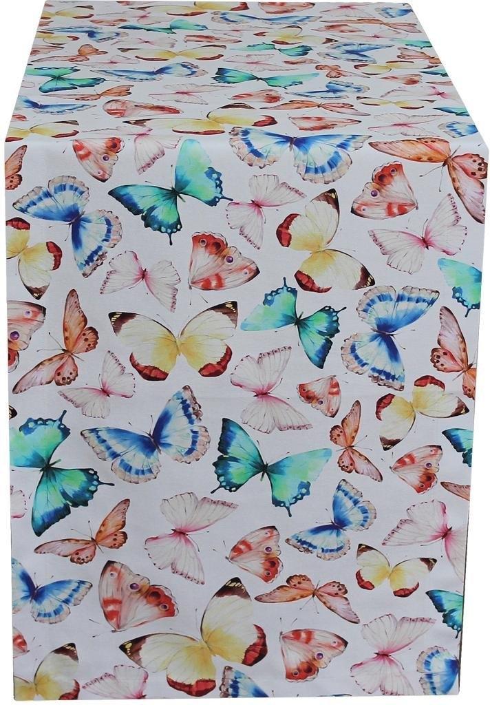 Hossner - Homecollection tafelloper »32438 Farfalle« (1-tlg.) nu online kopen bij OTTO