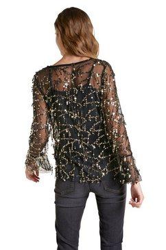 patrizia dini by heine shirt met lange mouwen zwart
