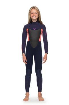 roxy wetsuit met achterrits »4-3mm prologue« roze