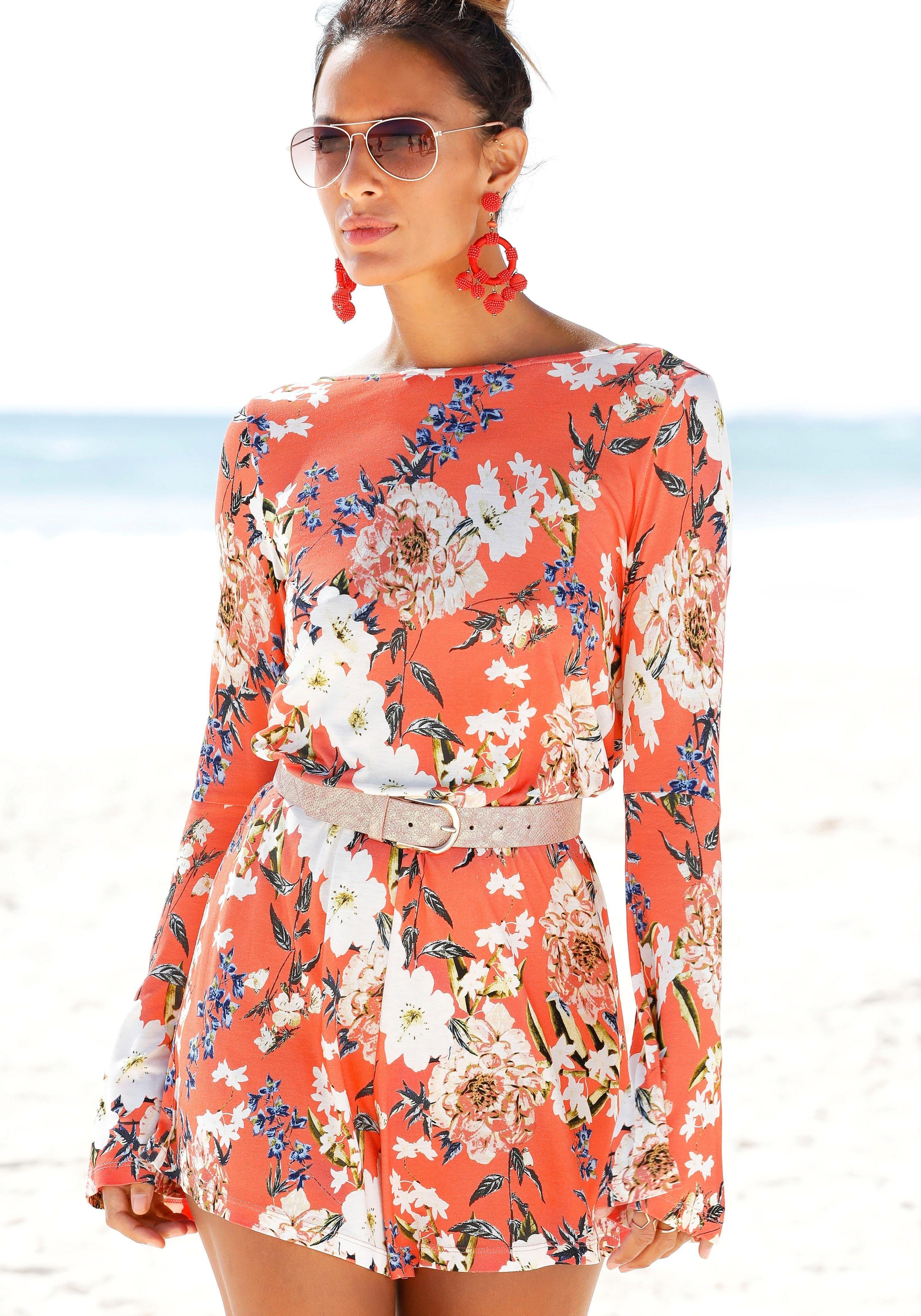 s.Oliver Beachwear s.Oliver RED LABEL Beachwear jumpsuit bestellen: 14 dagen bedenktijd