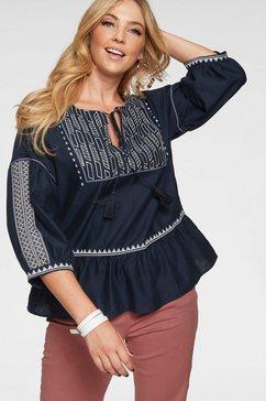 z-one blouse zonder sluiting blauw