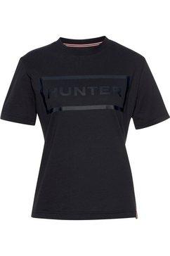 hunter t-shirt blauw