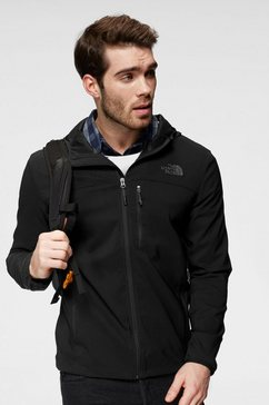 the north face softshell-jack »nimble« zwart