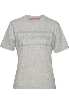 hunter t-shirt grijs