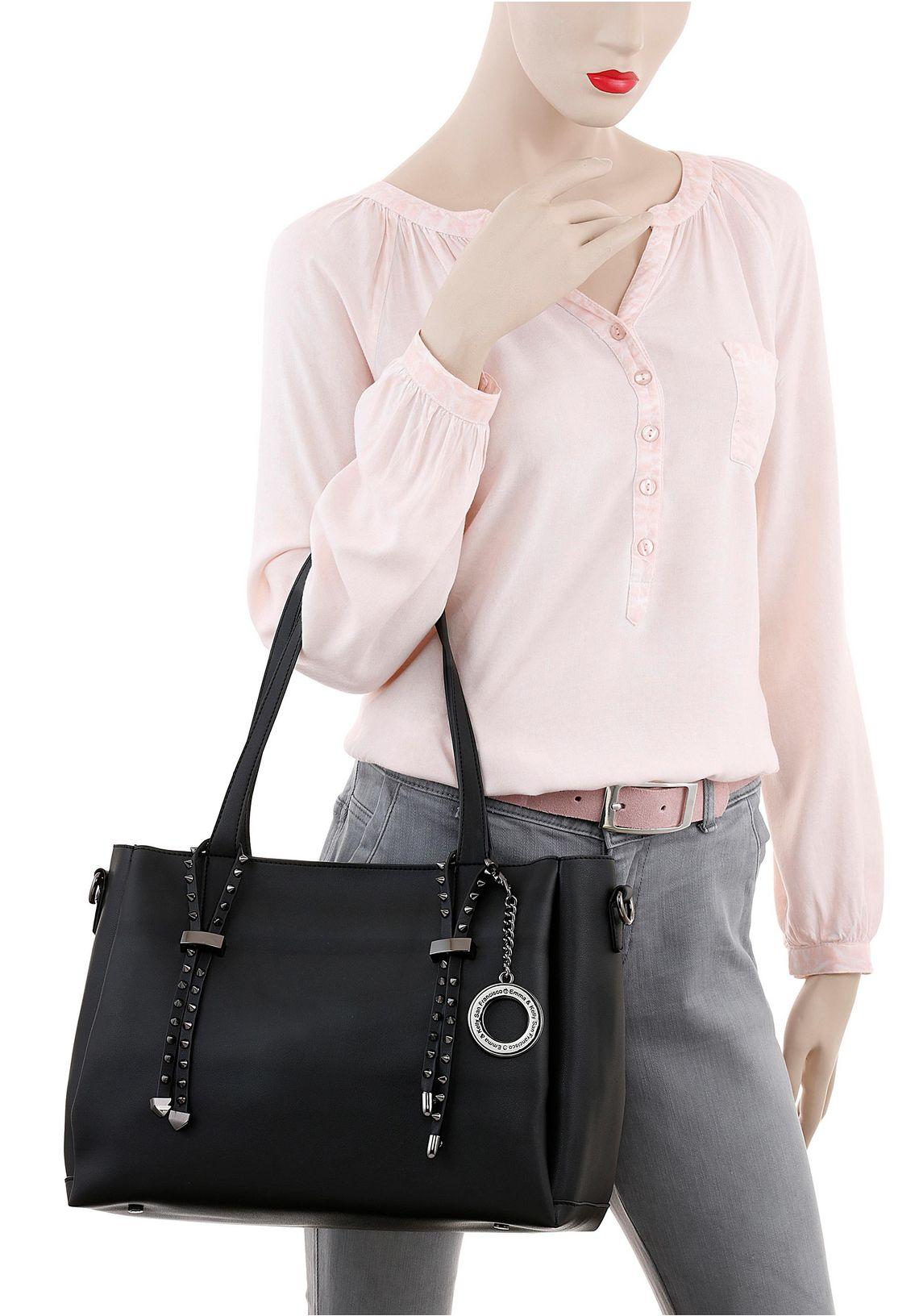 Emma & Kelly shopper online verkrijgbaar  zwart