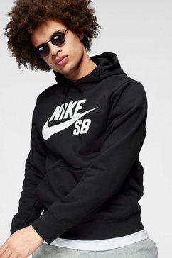 nike sb hoodie »m nk sb icon hoodie po essnl« zwart