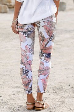 lascana 7-8-jegging wit