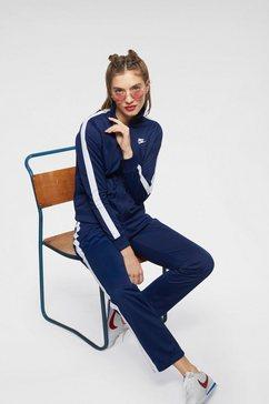 nike trainingspak »women nsw track suit pk oh« blauw