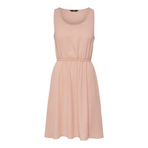 ONLY Effen Korte jurk roze