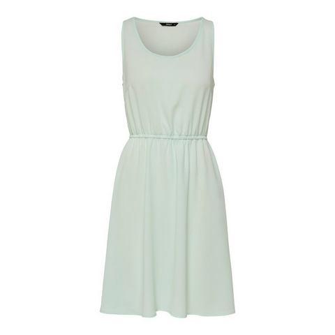 ONLY Effen Korte jurk beige