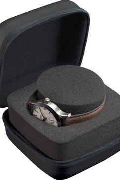 boxy horloge-etui »324185« zwart