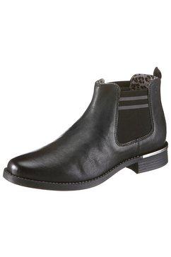 s.oliver red label chelsea-boots zwart