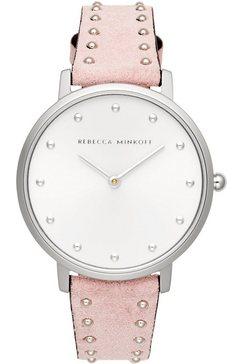 rebecca minkoff kwartshorloge »major, 2200309« roze