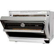 kitchenaid magnetron kmqfx 33910, 900 w zilver