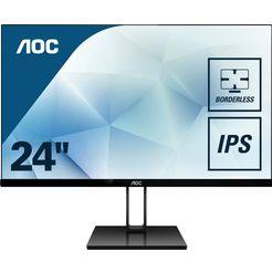 aoc lcd-monitor 24v2q zwart