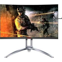 aoc »ag273qcx« curved-gaming-monitor zwart