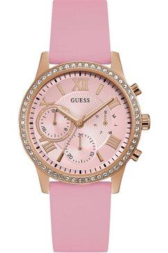 guess multifunctioneel horloge »solar, w1135l2« roze