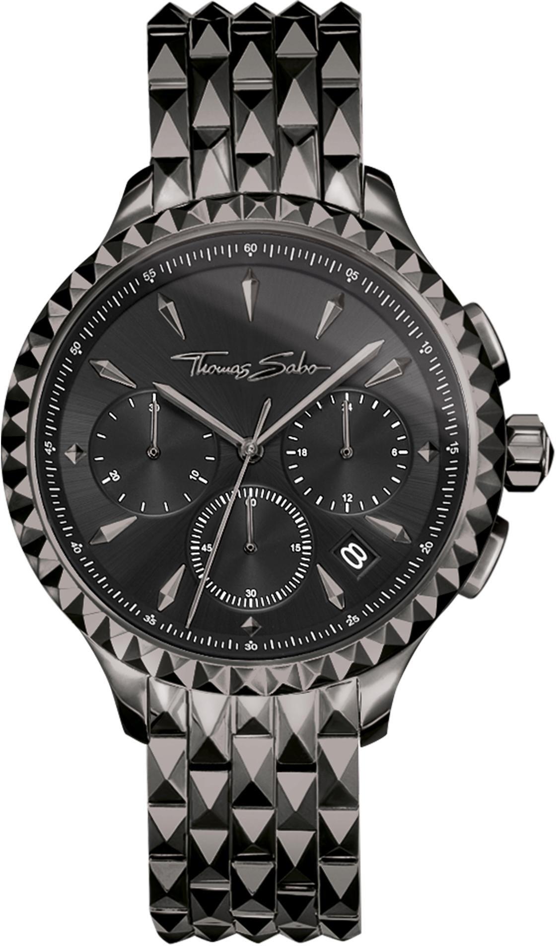 Thomas Sabo chronograaf »REBEL AT HEART, WA0348-202-203-38 mm« - verschillende betaalmethodes