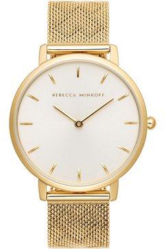 rebecca minkoff kwartshorloge »major, 2200298« goud
