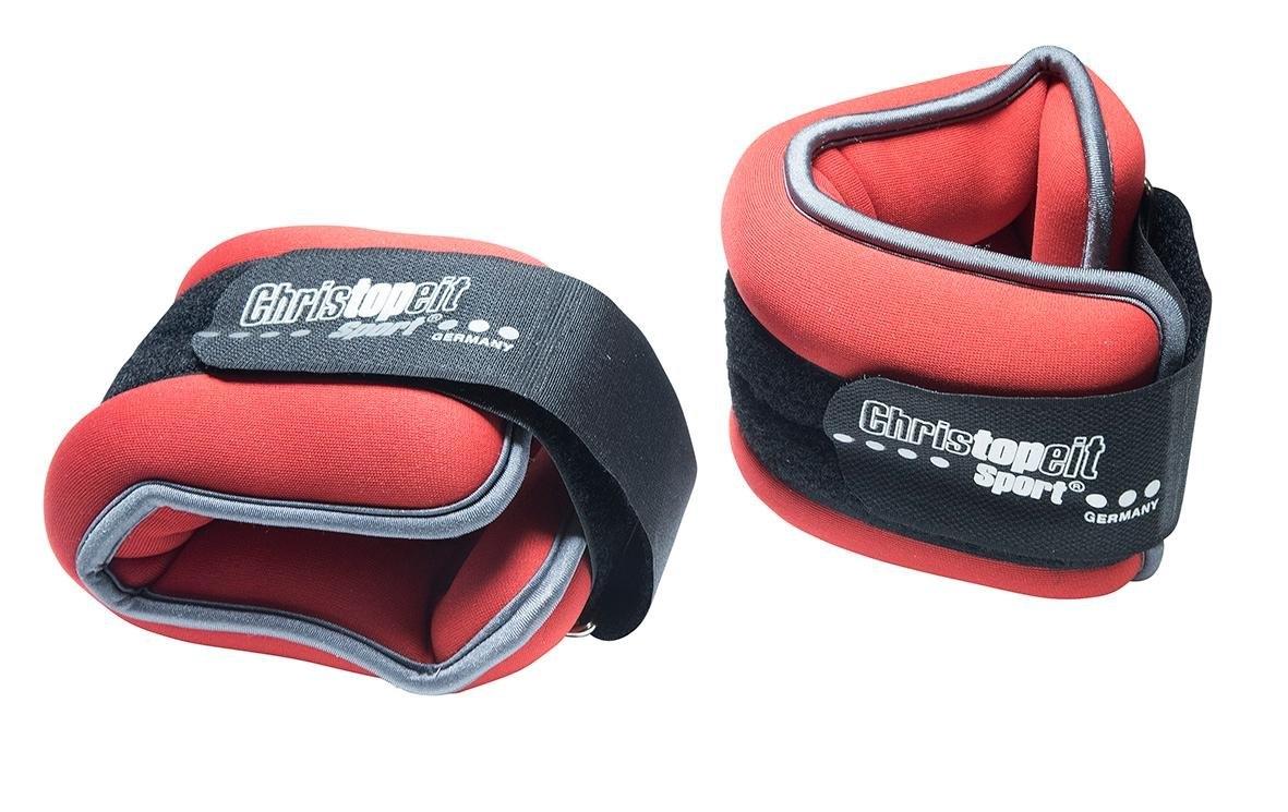 Christopeit Sport gewichtsmanchetten, set van 2, rood/zwart nu online bestellen