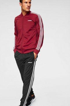 adidas trainingspak »men track suit b2bas 3 stripes c« rood