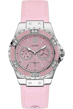 guess multifunctioneel horloge »lemelight, w0775l15« roze