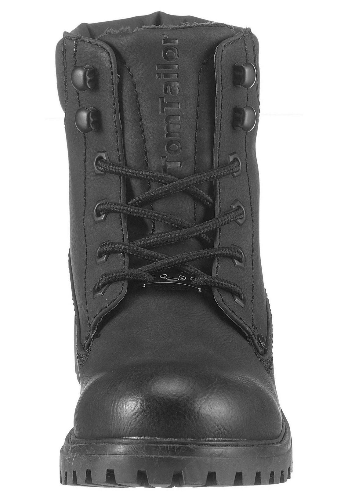 Tom Tailor hoge veterschoenen snel online gekocht  zwart