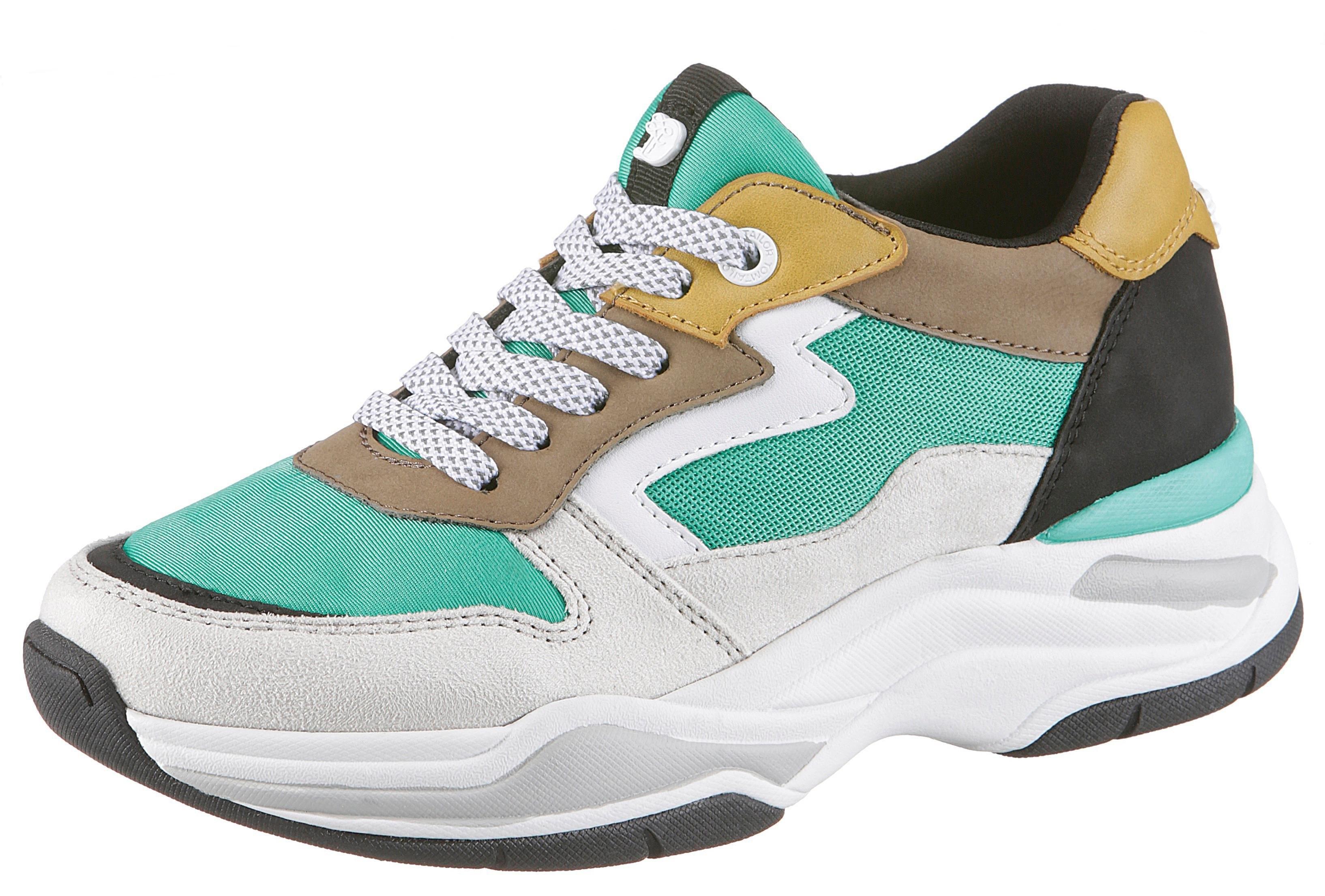 TOM TAILOR sneakers met sleehak nu online bestellen