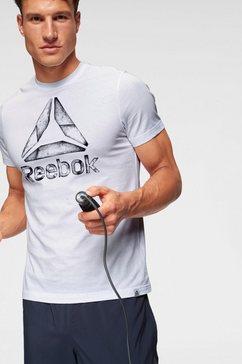reebok t-shirt wit