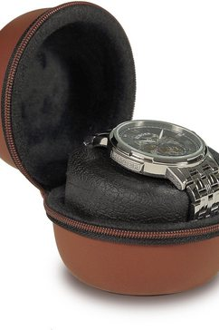boxy horloge-etui 324173 bruin