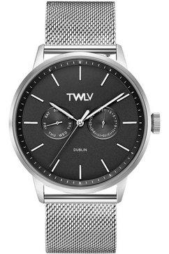 twlv multifunctioneel horloge »mr. king, tw4401« zilver