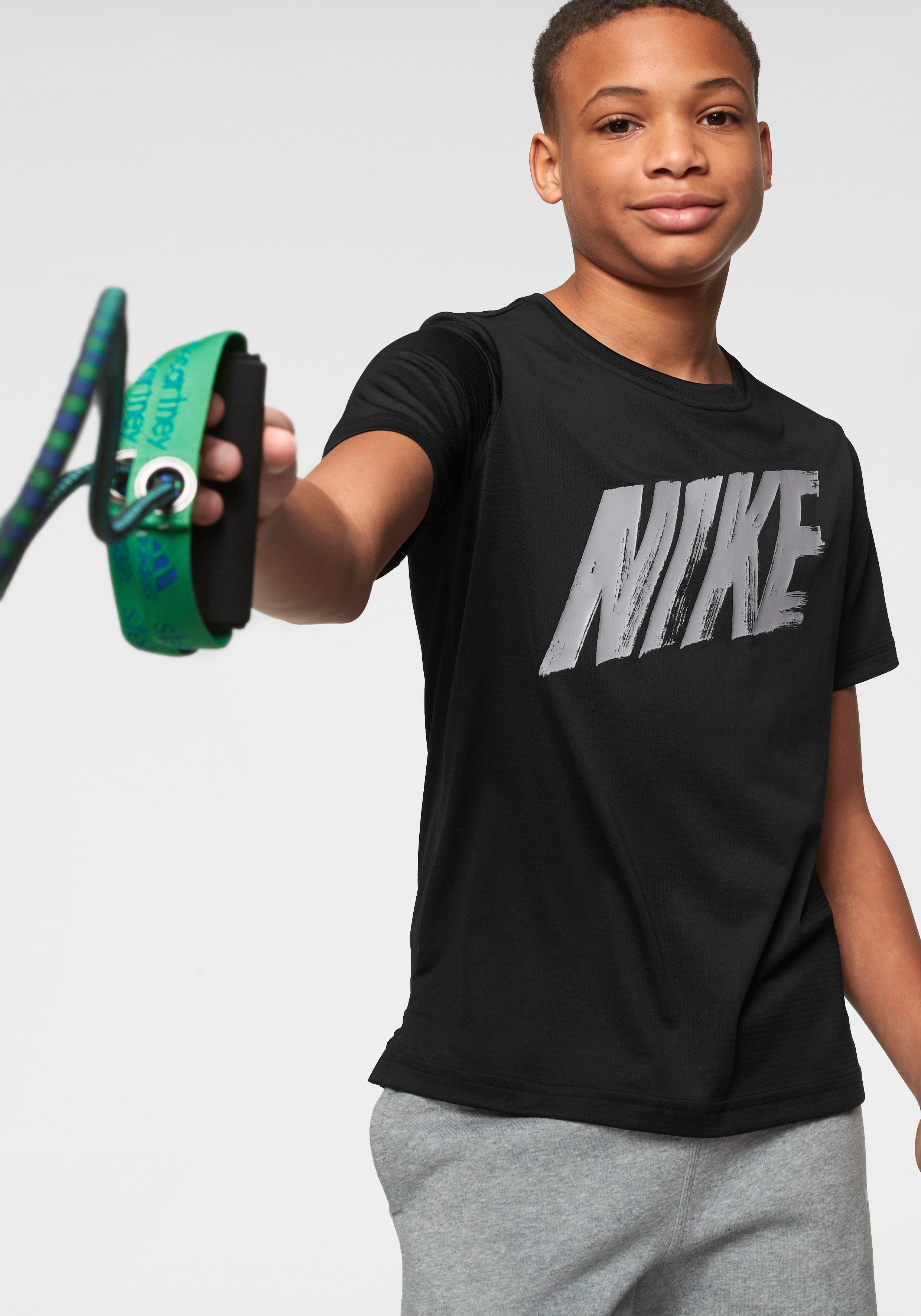 Nike T-shirt »BOYS NIKE DRY TOP SHORTSLEEVE« voordelig en veilig online kopen