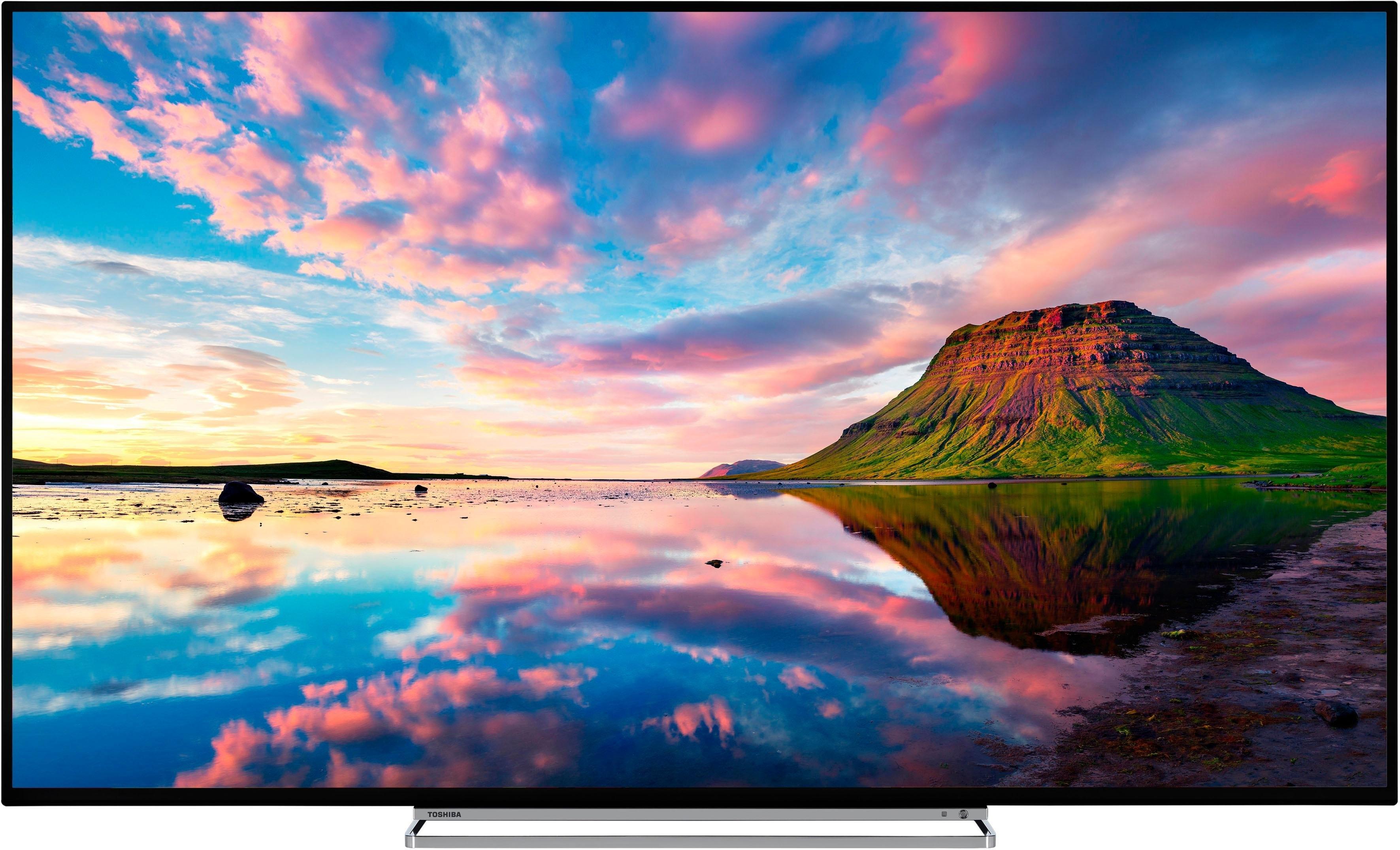 Toshiba 55U5863DA led-tv (140 cm (55 inch)), 4K Ultra HD, smart-tv in de webshop van OTTO kopen