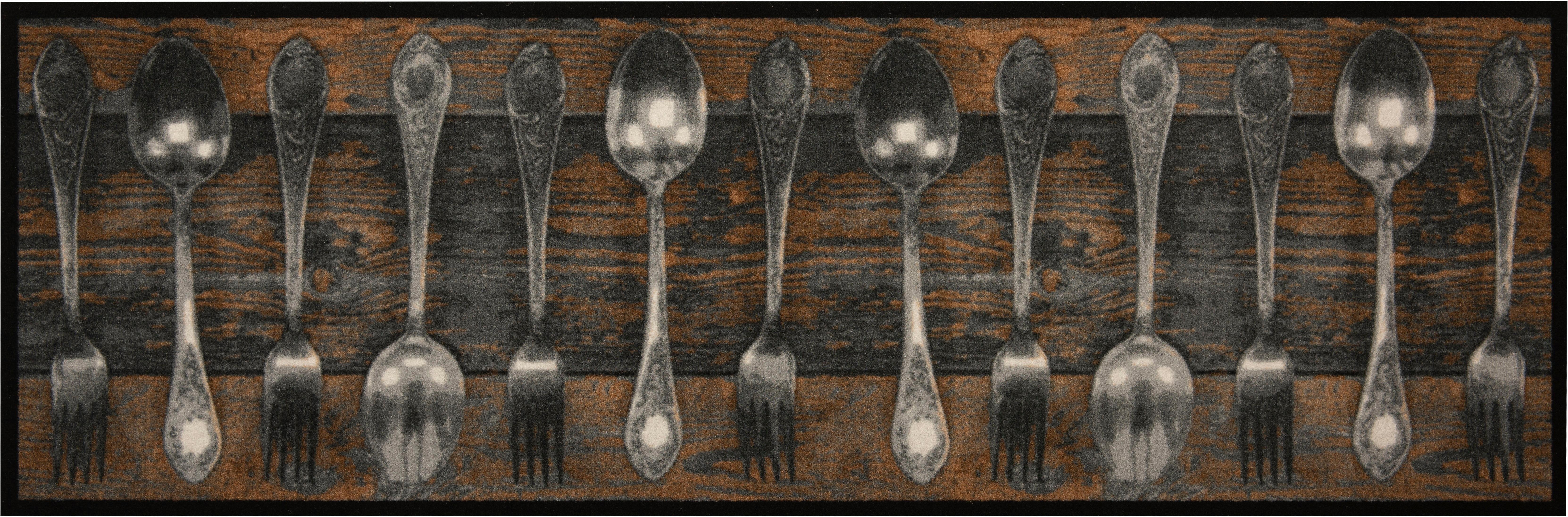 Op zoek naar een Zala Living Keukenloper, »Fork & Spoon«, rechthoekig, hoogte 5 mm, machinaal getuft? Koop online bij OTTO