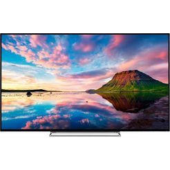 toshiba 49u5863da led-tv (124 cm (49 inch)), 4k ultra hd, smart-tv zwart