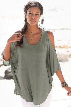 lascana strandshirt groen