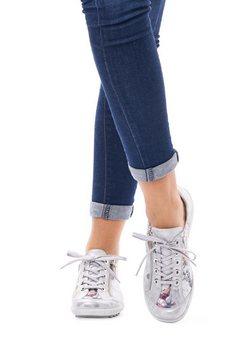 remonte veterschoenen grijs