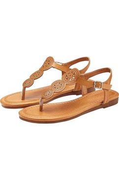 lascana sandalen beige