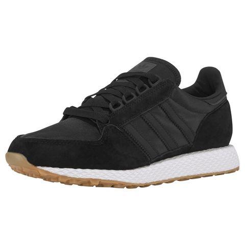 adidas originals Forest Grove suède sneakers zwart