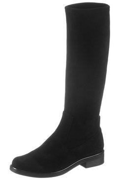caprice instaplaarzen zwart