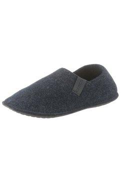 crocs pantoffels »classic convertible slipper« grijs