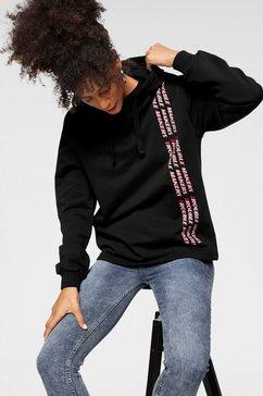 na-kd capuchonsweatshirt »1219« zwart