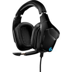 logitech games »g935 7.1 surround sound lightsync gaming headset« gaming-headset (wifi) zwart