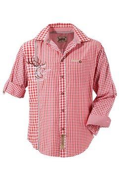 folklore-overhemd, stockerpoint rood